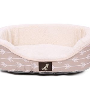 allpetsolutions bella collection of warm dog bed with reversible cushion washable AllPetSolutions Bella Collection of Warm Dog Bed with Reversible Cushion Washable (Small – 60x45x16.5cm, Cream) AllPetSolutions Bella Collection of Warm Dog Bed with Reversible Cushion Washable 0 300x300