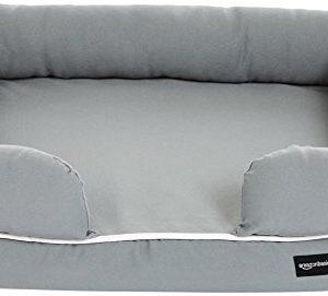 amazonbasics pet sofa lounger bed Amazon Basics Pet Sofa Lounger Bed AmazonBasics Pet Sofa Lounger Bed 0 300x271