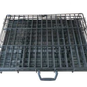 ellie-bo dog puppy cage folding 2 door crate with non-chew metal tray xxl 48-inch Ellie-Bo Dog Puppy Cage XXLarge 48 inch Gold Folding 2 Door Crate with Non-Chew Metal Tray Ellie Bo Dog Puppy Cage Folding 2 Door Crate with Non Chew Metal Tray Medium 30 inch 0 1 300x300