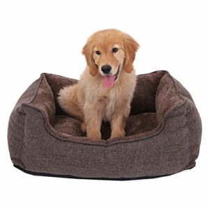 feandrea washable plush dog bed with removable cover, dog sofa FEANDREA Washable Plush Dog Bed with Removable Cover, Dog Sofa, Brown PGW11CC FEANDREA Washable Plush Dog Bed with Removable Cover Dog Sofa 0 300x300