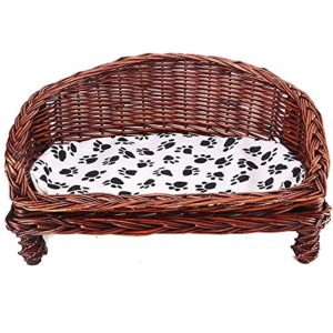 gk gadgetking woven wicker pet bed basket dog puppy sofa washable with cushion raised off floor ground settee sofa house cave couch GK GadgetKing Woven Wicker Pet Bed Basket Dog Puppy Sofa Washable With Cushion Raised Off Floor Ground Settee Sofa House… GK GadgetKing Woven Wicker Pet Bed Basket Dog Puppy Sofa Washable With Cushion Raised Off Floor Ground Settee Sofa House Cave Couch 0 300x300