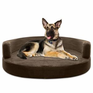 kopeks deluxe orthopedic memory foam round sofa lounge dog bed KOPEKS Deluxe Orthopedic Memory Foam ROUND Sofa Lounge Dog Bed – Large – Brown KOPEKS Deluxe Orthopedic Memory Foam ROUND Sofa Lounge Dog Bed 0 300x300