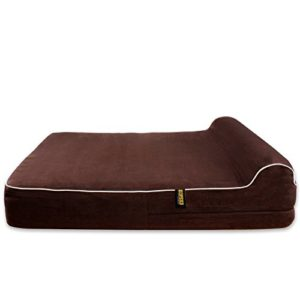kopeks large dog bed for large dogs with memory foam orthopaedic 89 x 71 x 14 cm plus the pillow - l - brown KOPEKS Large Dog Bed for Large Dogs with Memory Foam Orthopaedic 89 x 71 x 14 cm Plus the Pillow – L – Brown KOPEKS Dog Bed Replacement Cover Memory Foam Beds Cover Only Brown Extra Large 0 300x300