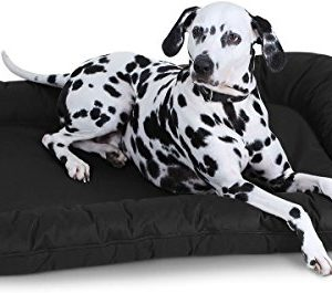 knuffelwuff in- and outdoor dog bed modell lucky Knuffelwuff Lucky Waterproof Dog Bed for Indoor/Outdoor, X-Large, 90 x 75 cm, Elephant Knuffelwuff In and Outdoor Dog Bed Modell Lucky 0 300x265