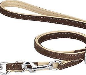 knuffelwuff soft leather multi-adjustable dog lead Knuffelwuff Soft Leather Multi-Adjustable Dog Lead Knuffelwuff soft leather dog lead dog leash Orlando multi adjustable 0 300x264