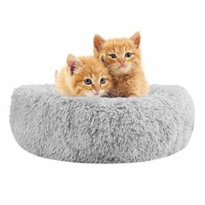 lontg calming pet bed cushion fluffy plush cat bed puppy donut cuddle bed cozy pet nest pet sofa round basket bed sleeping bed mat for small medium dogs cats kitten non-slip bottom washable 55cm Calming Cat Bed Fluffy Plush Cat Bed Dog Bed Donut Cat Bed Cat Marshmallow Bed Round Pet Bed Cat Basket Bed Pet Nest… LONTG Calming Pet Bed Cushion Fluffy Plush Cat Bed Puppy Donut Cuddle Bed Cozy Pet Nest Pet Sofa Round Basket Bed Sleeping Bed Mat For Small Medium Dogs Cats Kitten Non Slip Bottom Washable 55cm 0 300x300