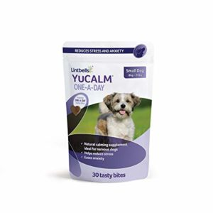 lintbells yucalm one-a-day chewies Lintbells | YuCALM ONE-A-DAY Large Chewies for Dogs | Calming Supplement for Dogs who are Stressed or Nervous, All Ages… Lintbells Yucalm ONE A DAY Chewies 0 300x300