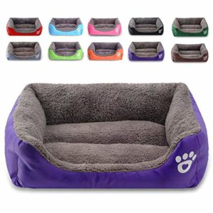 moniki dog bed, super soft pet sofa cats bed, non slip bottom pet lounger,self warming and breathable pet bed premium bedding MONIKI Modern Ultra Soft Warm Pet Bed Puppy Dog Mat Pad Cat Sleeping Cushion Suits for Daily Use (S: 16.5″x12.5″x4.7″ (42x32x12cm), RED MONIKI Dog Bed Super Soft Pet Sofa Cats Bed Non Slip Bottom Pet LoungerSelf Warming and Breathable Pet Bed Premium Bedding 0 300x300