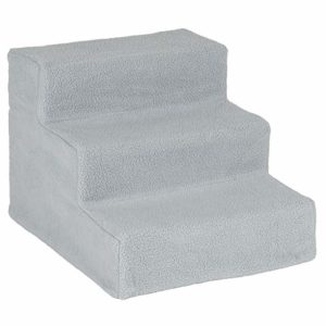 me & my easy climb fleece covered pet stairs - grey Me and My Easy Climb Fleece Covered Pet Stairs – Grey Me My Easy Climb Fleece Covered Pet Stairs Grey 0 300x300