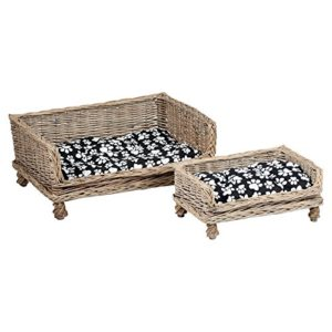 me & my pets raised woven bed - choice of size Me and My Pets Raised Woven Bed – Choice of Size Me My Pets Raised Woven Bed Choice of Size 0 300x300