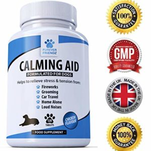 natural calming supplements for dogs - 120 non drowsy chicken flavour supplements - relieves stress & anxiety related to fireworks, grooming, loud noises, car journeys, separation & aggression Natural Calming Supplements for Dogs – 120 Non Drowsy Chicken Flavour Supplements – Relieves Stress & Anxiety related to… Natural Calming Supplements for Dogs 120 Non Drowsy Chicken Flavour Supplements Relieves Stress Anxiety related to Fireworks Grooming Loud Noises Car Journeys Separation Aggression 0 300x300