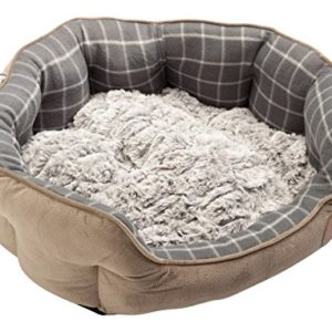 petface faux moleskin grey check pet bed bamboo plush cushion dog cat bedding basket (various sizes) Petface Bamboo Oval Dog Bed, Medium, Grey Check Petface Faux Moleskin Grey Check Pet Bed Bamboo Plush Cushion Dog Cat Bedding Basket Various Sizes 0 300x300