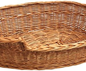 prestige dog bed basket Prestige Wicker Dog Bed Basket, Small/ Medium, Dark Prestige Dog Bed Basket 0 300x250