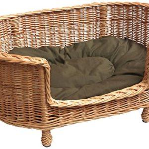 prestige wicker willow dog basket settee with cushion, large Prestige Wicker Luxury Willow Dog Basket Settee with Cushion, Large Prestige Wicker Willow Dog Basket Settee with Cushion Large 0 300x300