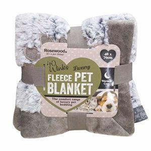 rosewood warm fleece lined plush sofa LUXURY FLEECE LINED PLUSH BED 48CM ROSEWOOD WARM FLEECE LINED PLUSH SOFA 0 300x300