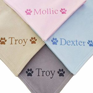 the knit wit - personalised pet dog/cat - fleece blanket - 72 cm x 100 cm - personalized The Knit Wit – Twtsie Collection – Personalised Dog – Cat – Puppy Pet Fleece Blanket – 72 cm x 100 cm – BLUE… The Knit Wit Personalised Pet DogCat Fleece Blanket 72 cm x 100 cm Personalized 0 300x300