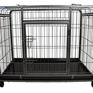 the pet store premium dog crate with lockable The Pet Store Premium Dog Crate with Lockable, Removable Nylon Wheels, Small The Pet Store Premium Dog Crate with Lockable 0 300x300