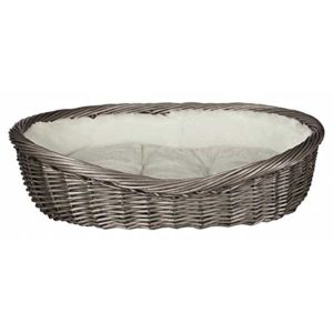 trixie basket, with lining and cushion, 70 cm, grey Trixie Basket, With Lining And Cushion, 70 cm, Grey Trixie Basket With Lining And Cushion 70 cm Grey 0 300x300