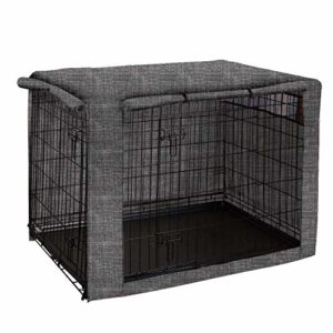 chengsan dog crate cover, durable windproof pet kennel cover provided for wire crate indoor outdoor protection chengsan Dog Crate Cover, Durable Windproof Pet Kennel Cover Provided for Wire Crate Indoor Outdoor Protection (24 Inch) chengsan Dog Crate Cover Durable Windproof Pet Kennel Cover Provided for Wire Crate Indoor Outdoor Protection 0 300x300