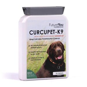 futureyou curcupet-k9 turmeric for dogs - highly absorbable joint health supplement with patented curcumin formulation - 56 tablets - developed cambridge, uk FutureYou Cambridge Curcupet-K9 Turmeric for Dogs – 56 Tablets – Highly Absorbable Joint Health Supplement with Patented… FutureYou Curcupet K9 Turmeric for Dogs Highly Absorbable Joint Health Supplement with Patented Curcumin Formulation 56 Tablets Developed Cambridge UK 0 300x300