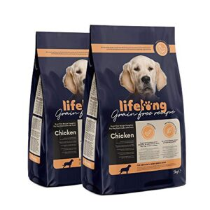 amazon brand - lifelong - grain free recipe complete dry dog food. made with fresh chicken -1.5 kg Amazon Brand – Lifelong Grainfree Amazon Brand Lifelong Grainfree 0 300x300