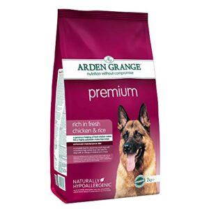 arden grange adult premium dry dog food, chicken, 2 kg Arden Grange Dog Food Premium 6kg Arden Grange Premium Dog Food 0 300x300