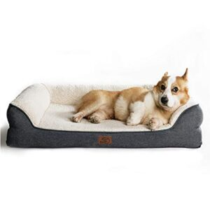bedsure orthopedic pet sofa beds for small, medium, large dogs & cats BEDSURE Orthopedic Dog Bed Medium – Memory Foam Dog Sofa Bed Couch with Removable Washable Cover& Nonskid Bottom, Dark… Bedsure Orthopedic Pet Sofa Beds for Small Medium Large Dogs Cats 0 300x300
