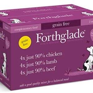 forthglade 100 percent natural grain free complementary wet dog food Forthglade 100 Percent Natural Grain Free Complementary Wet Dog Food Forthglade 100 Percent Natural Grain Free Complementary Wet Dog Food 0 300x300