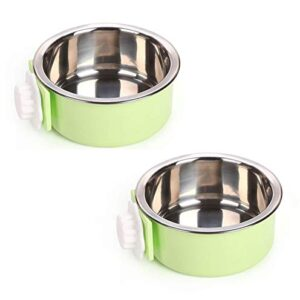 fuwok 2 in 1 stainless steel pet hanging bowl removable dog bowl for crates puppy food feeder water dish with bolt holder for medium dog 2 packs Fuwok 2 IN 1 Stainless Steel Pet Hanging Bowl Removable Dog Bowl for Crates Puppy Food Feeder Water Dish with Bolt… Fuwok 2 IN 1 Stainless Steel Pet Hanging Bowl Removable Dog Bowl for Crates Puppy Food Feeder Water Dish with Bolt Holder for Medium Dog 2 Packs 0 300x300