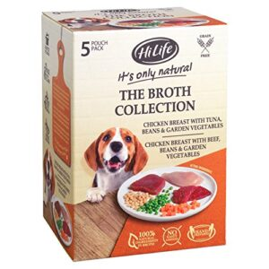 hilife it's only natural the broth collection, 500 g HiLife It's only Natural The Broth Collection, 5 x 100g HiLife Its only Natural The Broth Collection 500 g 0 300x300