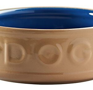 mason cash lettered dog bowl, cane and blue, 18 cm Mason Cash Lettered Dog Bowl, Cane and Blue, 18 cm Mason Cash Lettered Dog Bowl Cane and Blue 18 cm 0 300x291