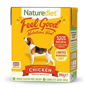 naturediet feel good chicken complete wet food 390g x 18 Naturediet Feel Good Naturediet Feel Good 0 300x300