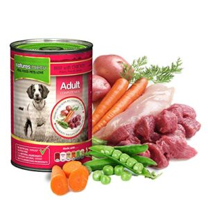 natures menu original 400g cans Nature's Menu Dog Food Natures Menu Original 400g Cans 0 300x300