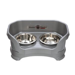 neater pet brands feeder express & slow feed bowl Neater Pet Brands Feeder Deluxe Small Gunmetal Grey Neater Pet Brands Feeder Express Slow Feed Bowl 0 300x300
