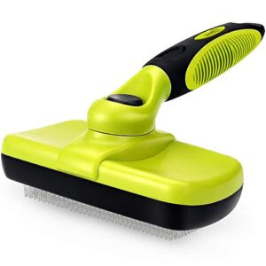 pecute slicker dog brushes,self cleaning pet grooming brush- removes 90% of dead undercoat and loose hairs,suitable for medium and long haired dogs cats pecute Slicker Dog Brushes,Self Cleaning Pet Grooming Brush- Removes 90% of Dead Undercoat and Loose Hairs,Suitable for… Pecute Slicker Dog BrushesSelf Cleaning Pet Grooming Brush Removes 90 of Dead Undercoat and Loose HairsSuitable for Medium and Long Haired Dogs Cats 0 300x300