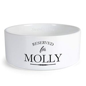 swanky paws personalised reserved for custom design dog bowl cat pet food dinner dish (xs) Swanky Paws Personalised Reserved For Custom Design Dog Bowl Cat Pet Food Dinner Dish (Small) Swanky Paws Personalised Reserved For Custom Design Dog Bowl Cat Pet Food Dinner Dish 0 300x300