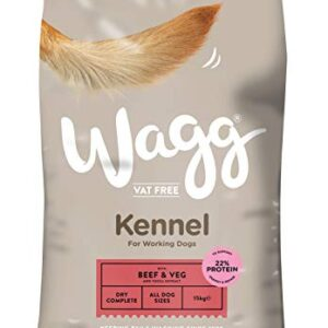 wagg beef and veg kennel complete dog food, 15 kg Wagg Beef and Veg Kennel Complete Dog Food, 15 kg Wagg Beef and Veg Kennel Complete Dog Food 15 kg 0 300x300