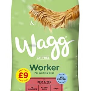 wagg worker beef dry dog food - 12kg Wagg Worker Working Dog Food Beef 12kg, Transparent Wagg Worker Beef Dry Dog Food 12kg 0 300x300