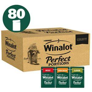 winalot perfect portions dog food meat gravy, 80 x 100 g Winalot Perfect Portions Dog Food Mixed in Gravy, 80 x 100 g Winalot Perfect Portions Dog Food Meat Gravy 80 x 100 g 0 300x300