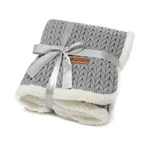 allpetsolutions charlie chunky knit design dog puppy grey blanket soft warm pet throw AllPetSolutions Charlie Chunky Knit Design Dog Puppy Grey Blanket Soft Warm Pet Throw (S – 100 x 70cm) allpetsolutions Charlie Chunky Knit Design Dog Puppy Grey Blanket Soft Warm Pet Throw 0 300x300