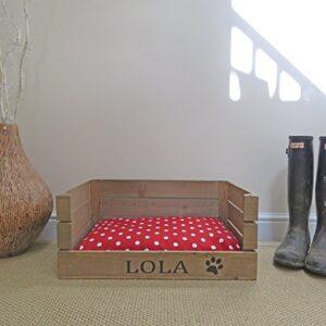 applecratescouk personalised wooden apple crate dog bed Applecratescouk PERSONALISED WOODEN APPLE CRATE DOG BED Applecratescouk PERSONALISED WOODEN APPLE CRATE DOG BED 0 300x300