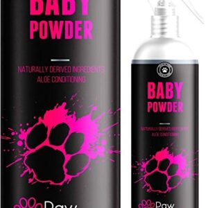 baby powder cologne perfume for dogs - talcum fresh smell & aloe vera coat conditioner- naturally derived - lasts up to 3 days - 250ml - made in the uk - from the no 1 uk pet grooming brand - Baby Powder Cologne Perfume For Dogs – Long Lasting Deodoriser For Dogs & Aloe Vera Coat Conditioner- Naturally Derived… Baby Powder Cologne Perfume For Dogs Talcum Fresh Smell Aloe Vera Coat Conditioner Naturally Derived Lasts Up to 3 Days 250ML Made In The UK From The No 1 Uk Pet Grooming Brand 0 300x300