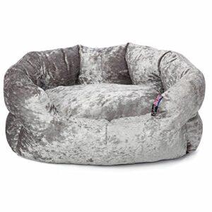 bunty bellagio crushed velvet dog bed soft washable fleece cushion warm pet - small Bunty Bellagio Crushed Velvet Dog Bed Soft Washable Fleece Cushion Warm Luxury Pet – Small Bunty Bellagio Crushed Velvet Dog Bed Soft Washable Fleece Cushion Warm Pet 0 300x300