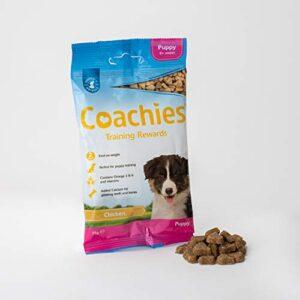 coachies puppy training treats 4 x 75 grams Coachies Puppy Treats, 75 g, Pack of 12 COACHIES Training Treats 75g Puppy Chicken 0 0 300x300