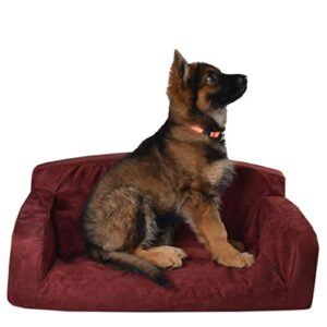 designer – pet sofa, dog bed, red & pink faux suede lounge 3 sizes settee (medium sofa 96 x 46 x 34cm, red) DESIGNER – PET SOFA, DOG BED, RED & PINK FAUX SUEDE LOUNGE 3 SIZES SETTEE (Medium Sofa 96 x 46 x 34cm, Red) DESIGNER  PET SOFA DOG BED RED PINK FAUX SUEDE LOUNGE 3 SIZES SETTEE Medium Sofa 96 x 46 x 34cm Red 0 300x300
