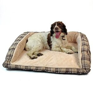 easipet deluxe orthopaedic soft dog sofa bed in tan plaid Easipet Deluxe Orthopaedic Soft Dog Sofa Bed in Tan Plaid 74001 Easipet Deluxe Orthopaedic Soft Dog Sofa Bed in Tan Plaid 0 300x300