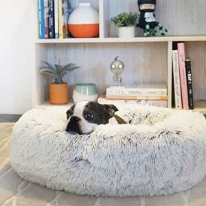 extra large washable faux fur dog bed with outer cover donut calming cat sofa reversible cushion puppy sleeping bag self-warming kennel, xs Extra Large Washable Faux Fur Dog Bed with Outer Cover Donut Calming Cat Sofa Reversible Cushion Puppy Sleeping Bag Self… Extra Large Washable Faux Fur Dog Bed with Outer Cover Donut Calming Cat Sofa Reversible Cushion Puppy Sleeping Bag Self Warming Kennel 0 300x300