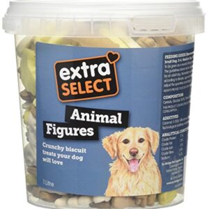 extra select chops, 1 litre Extra Select Animal Figure Biscuit Dog Treats Tub, 1 Litre Extra Select Chops 1 Litre 0 300x300
