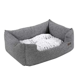feandrea dog bed, dog mat with reversible cushion,warmdog sofa, comfortable and breathable, non-slip, raised edge,80 x 60x 26 cm, for dogs up to15kg,speckledgreypgw26g FEANDREA Dog Bed, Reversible Cushion, 60 x 50 x 21 cm, Black PGW22B FEANDREA Dog Bed Dog Mat with Reversible Cushion Warm Dog Sofa Non Slip 0 300x300