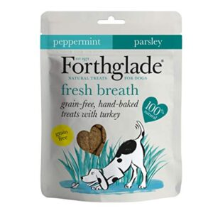 forthglade hand baked treats with salmon/glucosamine and chondroitin Forthglade 100 Percent Natural Dog Treats for Fresh Breath Grain Free Baked Treats with Turkey, Peppermint and Parsley… Forthglade Hand Baked Treats with SalmonGlucosamine and Chondroitin 0 300x300